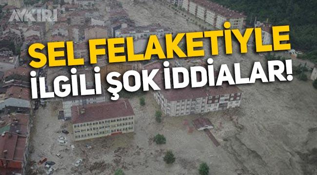 """Kastamonu Bozkurt'taki sel felaketi hakkında şok iddia: """"Dere yatağının daraltılarak bölgenin imara açıldı!"""""""