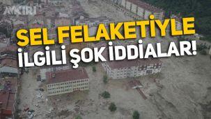 Kastamonu Bozkurt'taki sel felaketi hakkında şok iddia: