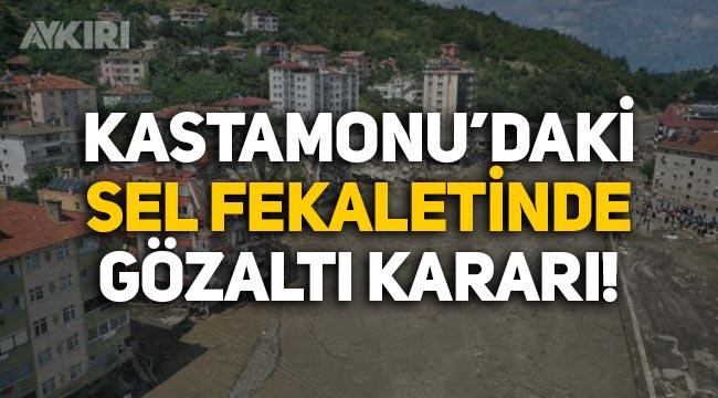 Kastamonu'da yıkılan binanın müteahhidine gözaltı kararı!