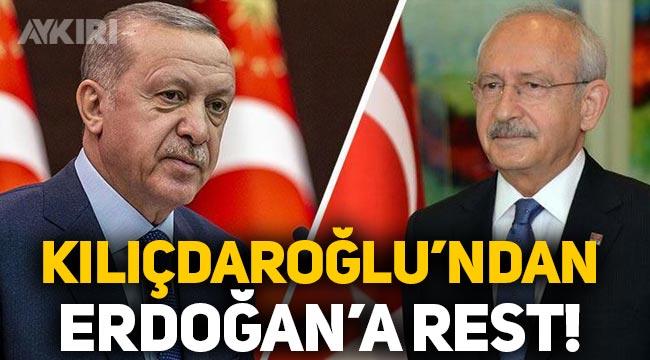 Kemal Kılıçdaroğlu, Erdoğan'a 'sığınmacı' konusunda rest çekti!