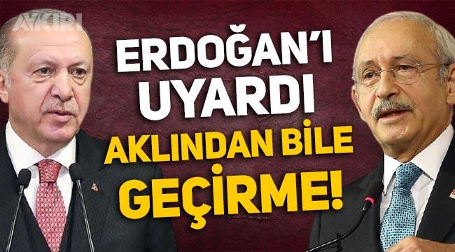 Kemal Kılıçdaroğlu'ndan Erdoğan'a elektrik zammı uyarısı!