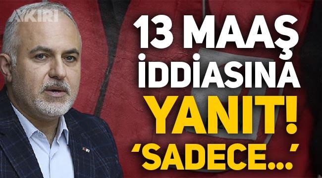 """Kızılay Başkanı Kerem Kınık'tan 13 maaş iddiasına yanıt: """"Tek maaş alıyorum"""""""