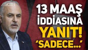 Kızılay Başkanı Kerem Kınık'tan 13 maaş iddiasına yanıt:
