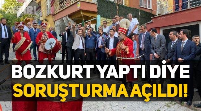 """Kocaeli'nde karakol amiri """"Bozkurt"""" yaptı diye soruşturma açıldı!"""