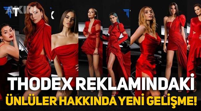 Kripto para borsası Thodex'in reklamlarında oynayan ünlüler hakkında yeni gelişme!