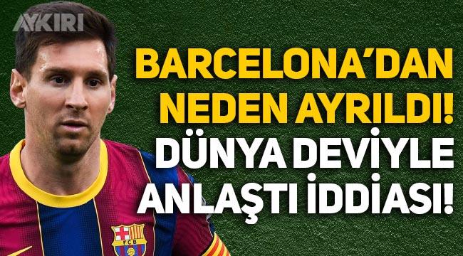 Lionel Messi Barcelona'dan neden ayrıldı? Messi hangi takıma gidecek? PSG ile anlaştı iddiası!