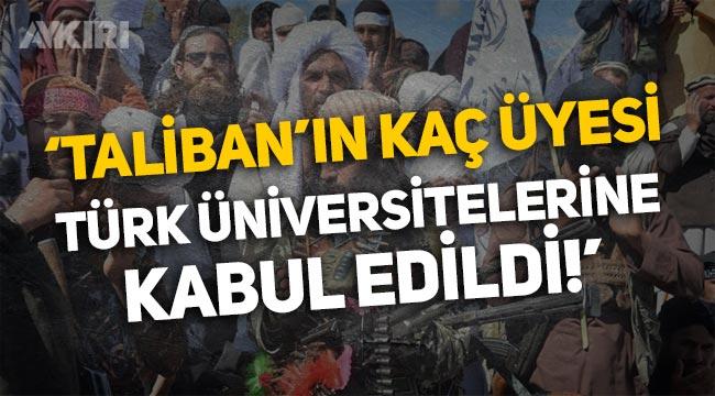 Milli Eğitim Bakanına soruldu: Taliban'ın kaç üyesi Türk üniversitelerine kabul edildi