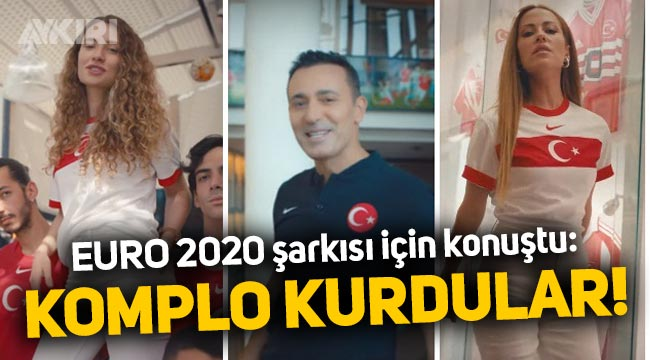 """Mustafa Sandal'dan EURO 2020 şarkısı hakkında: """"Bize komplo kurdular!"""""""