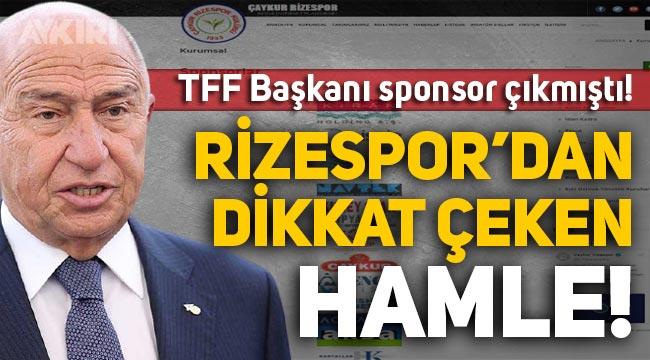 Rizespor sponsorlar listesini güncelledi, Nihat Özdemir'in şirketi Limak'ı çıkardı!