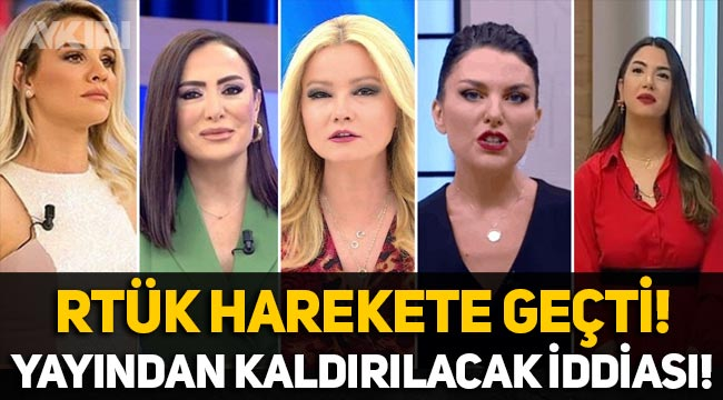 RTÜK, gündüz kuşağı programlarını kaldıracak iddiası