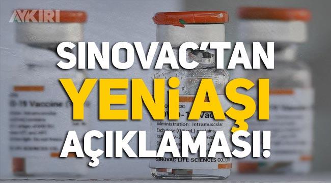 Sinovac'tan açıklama: Delta Varyantına karşı aşı geliştiriyoruz!