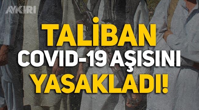 Taliban, Afganistan'ın Paktiya vilayetinde koronavirüs aşısını yasakladı!