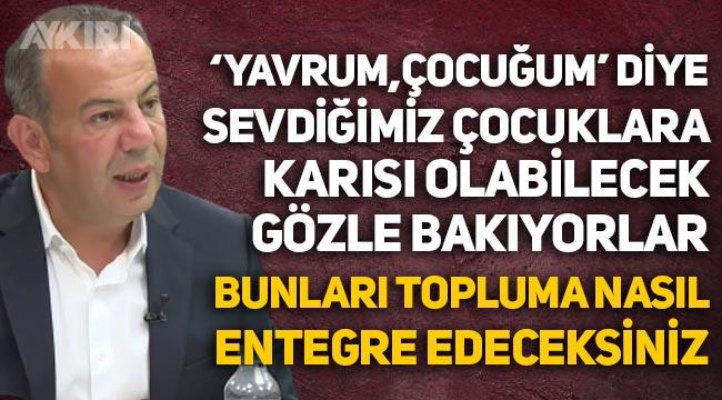 """Tanju Özcan'dan sığınmacı sorunu hakkında açıklama: """"Bunları topluma nasıl entegre edeceksiniz?"""""""
