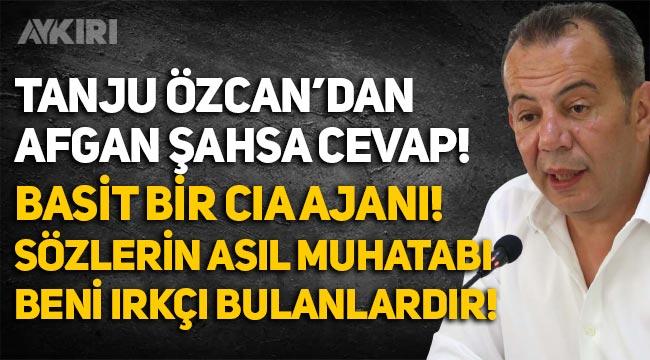 Tanju Özcan'dan Türk kadınlarına ve kendisine hakaret eden Afgan Sunatullah Saadat hakkında açıklama!