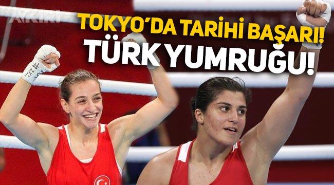Tokyo Olimpiyat Oyunları'nda Buse Naz Çakıroğlu ve Busenaz Sürmeneli finale çıktı