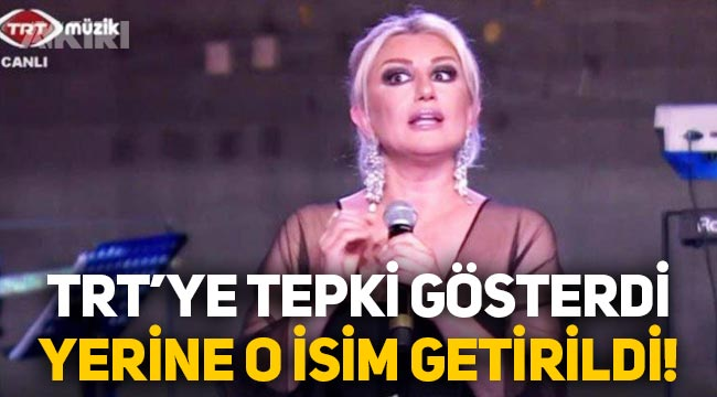 TRT'ye tepki gösteren Muazzez Ersoy'un yerine Yavuz Bingöl geldi!
