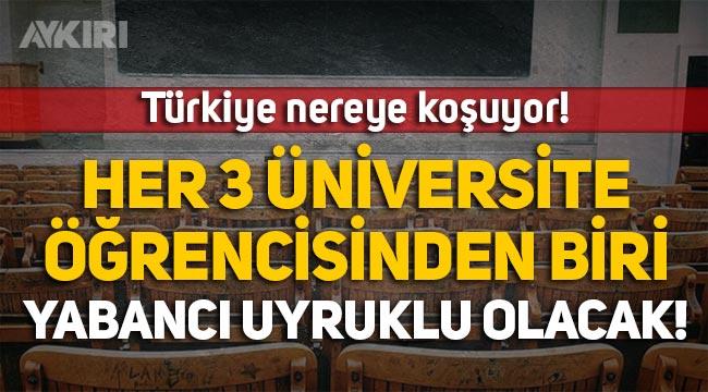 Türkiye'de eğitim: Her 3 üniversite öğrencisinden biri yabancı uyruklu olacak!