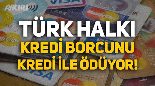 Türkiye'deki vatandaşlar, kredi borcunu kredi ile ödüyor: 35 milyondan fazla kişi kredi almış!