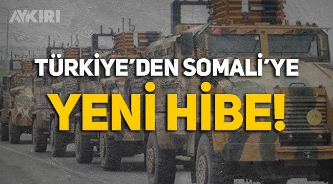 Türkiye'den Somali'ye ikinci hibe: 22 zırhlı araç verildi!