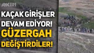Van sınırından Türkiye'ye kaçak girişler devam ediyor! Kaçaklar güzergah değiştirmiş