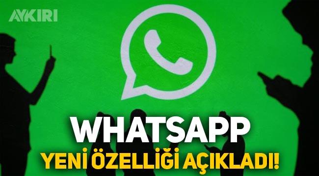 WhatsApp'tan yeni fotoğraf ve video özelliği!