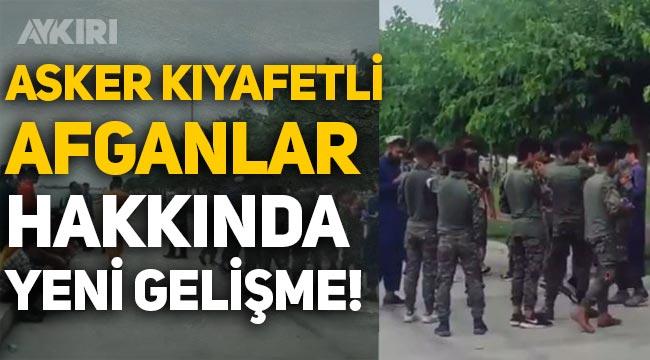 Zeytinburnu'ndaki asker kıyafetli Afganlar hakkında yeni gelişme! Sınır dışı edilecekler
