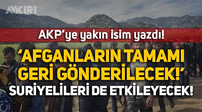 """Abdulkadir Selvi: Erdoğan, """"Afganların tamamını göndereceğiz"""" diyor!"""