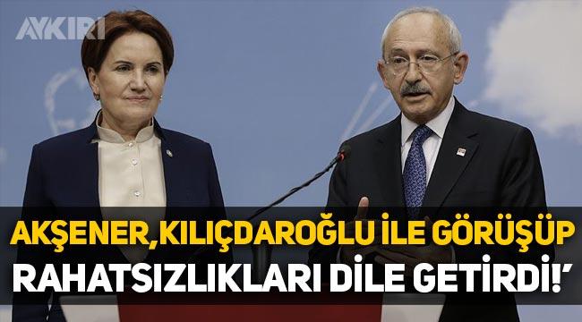 """Ahmet Takan: """"Meral Akşener, Kemal Kılıçdaroğlu ile görüşüp, rahatsızlıkları dile getirdi"""""""