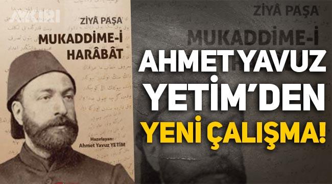Ahmet Yavuz Yetim'den yeni çalışma