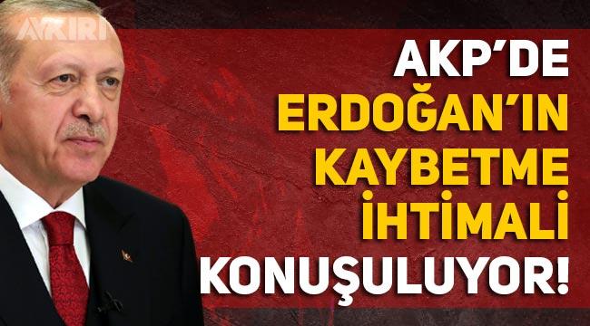 """AKP'de Erdoğan'ın gidişi konuşulmaya başladı: """"Allah bize o günü göstermesin"""""""