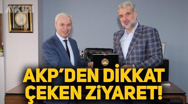 AKP İstanbul İl Başkanı Osman Nuri Kabaktepe, Milli gazeteyi ziyaret etti