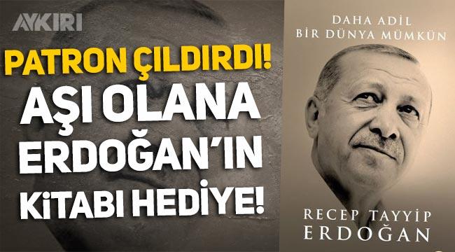 AKP'den kitap hamlesi: Aşı olanlara Erdoğan'ın kitabı hediye edilecek!