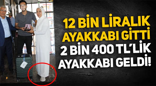 AKP'li Öznur Çalık, 12 bin liralık ayakkabısı yerine 2 bin 350 liralık ayakkabısını giydi!