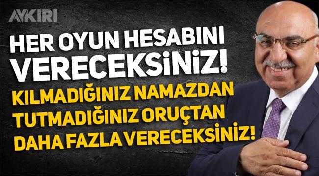 """AKP'li Şenel Yediyıldız: """"Her oyun hesabını vereceksiniz! Kılmadığınız namazdan, tutmadığınız oruçtan daha fazla verecekseniz"""""""