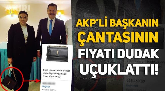 AKP'li yönetici Pınar Turhanoğlu'nun çantasının fiyatı dudak uçuklattı!
