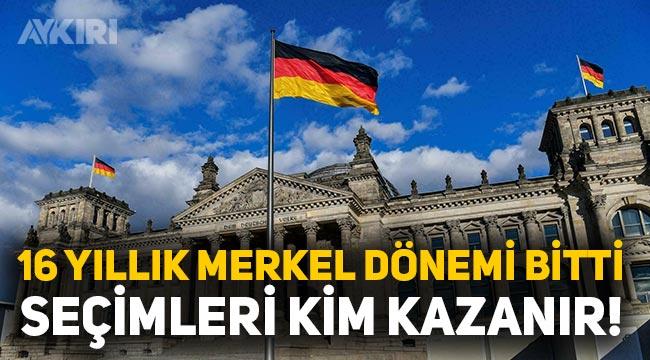 Almanya'da seçimleri kim kazanır? Almanya seçimlere odaklandı