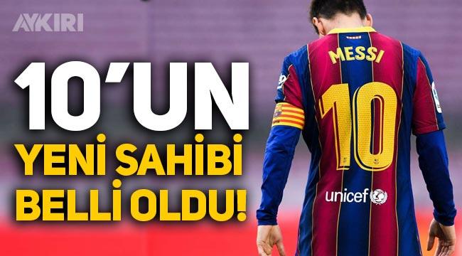 Barcelona'da Lionel Messi'nin ardından 10 numaralı formanın sahibi belli oldu!