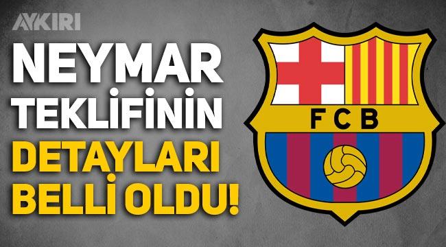 Barcelona'nın Neymar'a yaptığı teklif belli oldu!