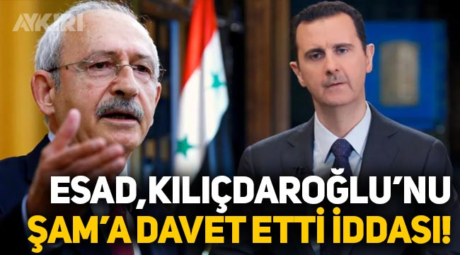 Beşar Esad, Kemal Kılıçdaroğlu'nu Şam'a davet etti iddiası!