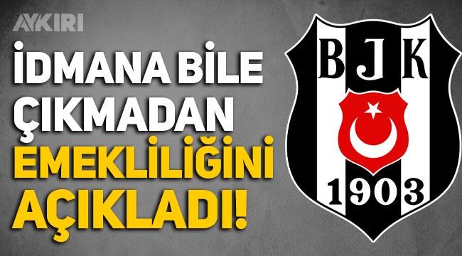 Beşiktaş'ın yeni transferi Steve Vasturia sahaya çıkmadan emekliliğini açıkladı!