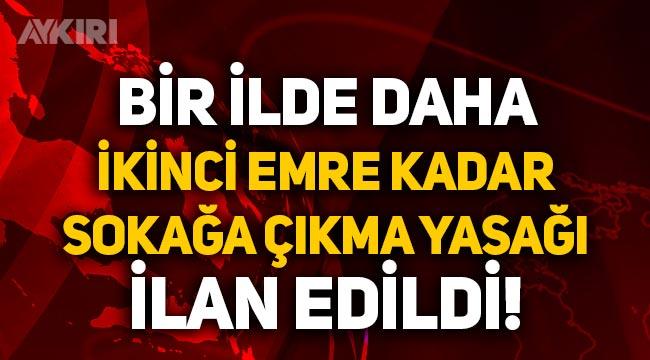 Bitlis'te ikinci bir emre kadar sokağa çıkma yasağı ilan edildi!