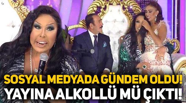 Bülent Ersoy yayına alkollü mü çıktı? Bülent Ersoy'dan açıklama!