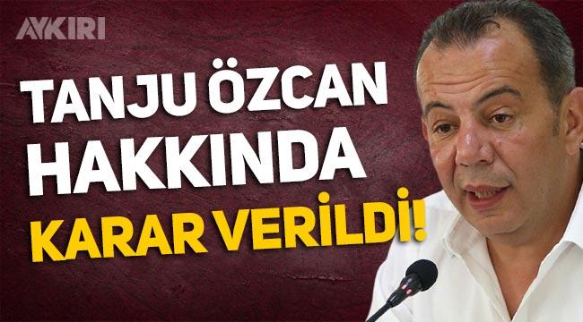 CHP'de Tanju Özcan hakkında karar verildi!