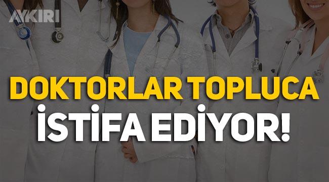 CHP: Doktorlar devlet hastanelerinden gruplar halinde istifa ediyor!