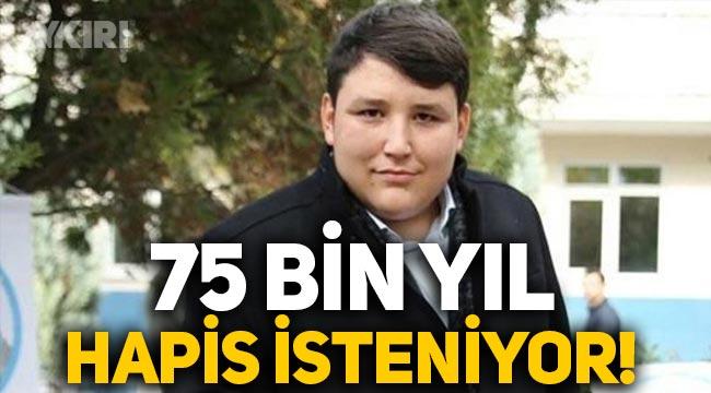 Çiftlik Bank'ın kurucusu Tosuncuk Mehmet Aydın için 75 bin yıl hapis cezası isteniyor