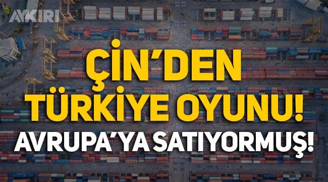 """Çin ürünlerini """"Made in Turkey"""" etiketi basıp Avrupa'ya satmış!"""