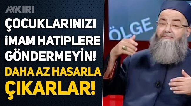 """Cübbeli Ahmet: """"Çocuklarınızı imam hatiplere, ilahiyata göndermeyin!"""""""