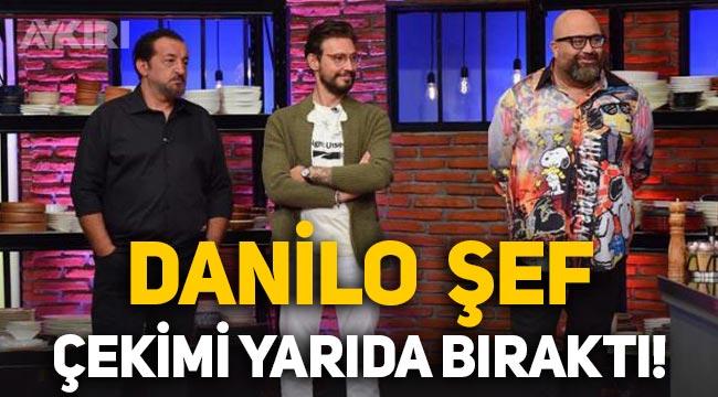Danilo Zanna, MasterChef'i yarıda bıraktı!