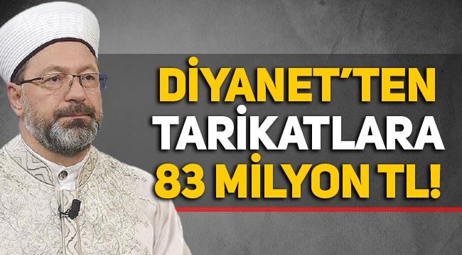 Diyanet'ten tarikat ve cemaatlere 83 milyon lira!