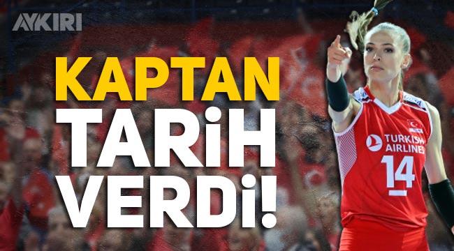 Eda Erdem Dündar, maç sonu Türk halkına teşekkür edip, 2022'ye işaret etti